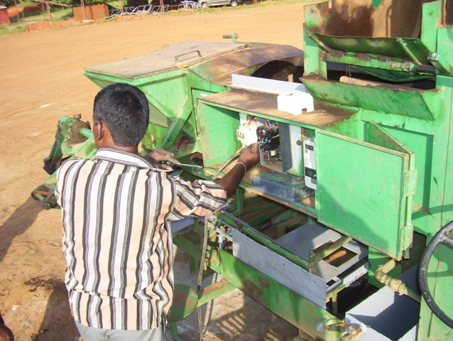 Machine operators and skilled labour